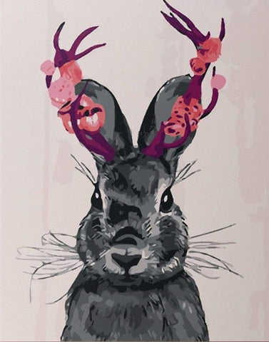 Ms. Rabbit - Animals Paint By Numbers