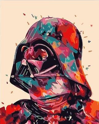 Dark Vador Star Wars - People Paint By Numbers
