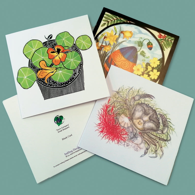 140mm Square Greeting Cards