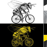[ bee on a bicycle ] | t-shirt + more options