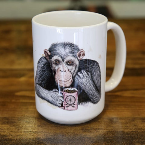 Coffee Chimpanzee Mug