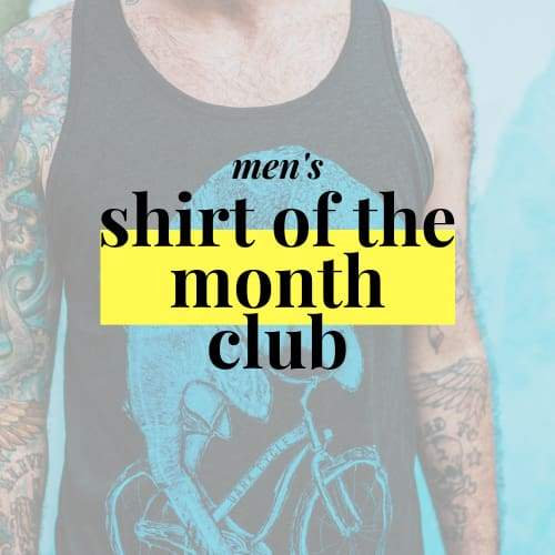 Dark Cycle Monthly Subscription Shirt of the Month Club - Classic - Mens / Unisex / XS / Classic - Shirt Club