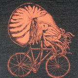 Nautilus on a Bicycle Mens T-Shirt - Unisex Tees