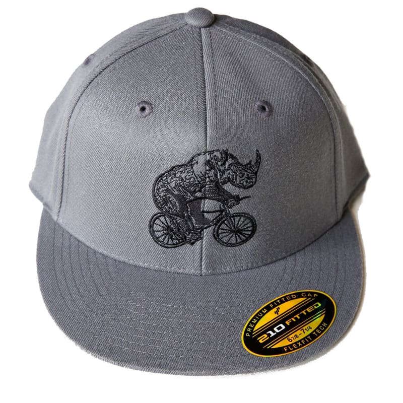 Rhinoceros Fitted Hat - Hats