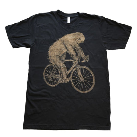 Sloth on a Bicycle Men's T-Shirt