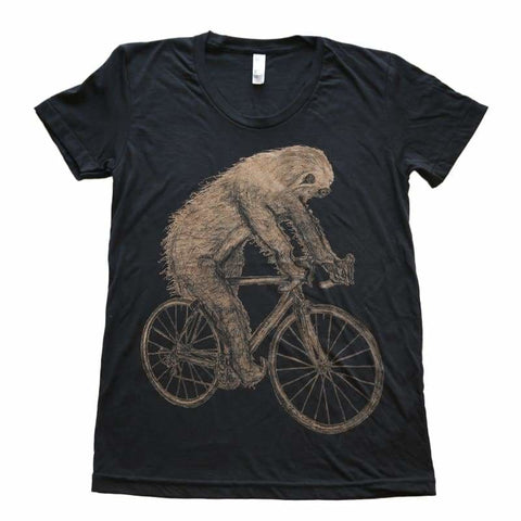 Sloth on a Bicycle Women's T-Shirt