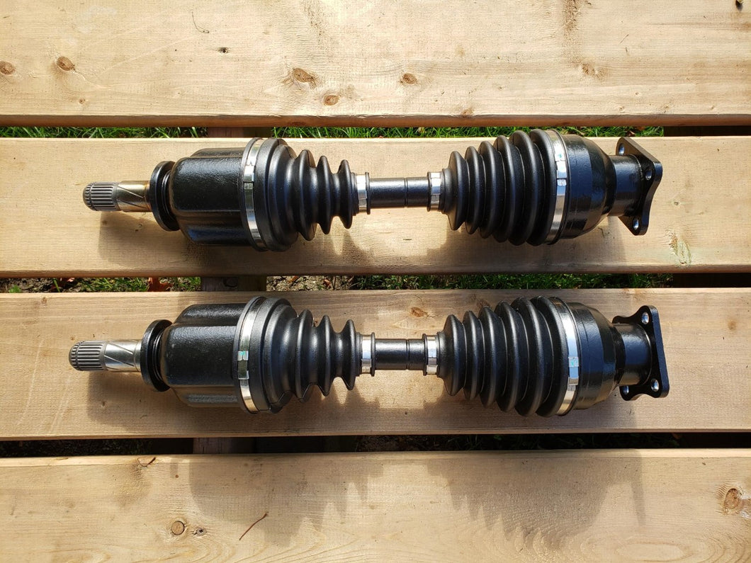 CV axle set integrated stubs - Datsuns with Subaru STI R180 differential