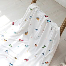 Load image into Gallery viewer, Bebenuvo Hygiene Ice Blanket/Swaddle Wrap - Busy Life