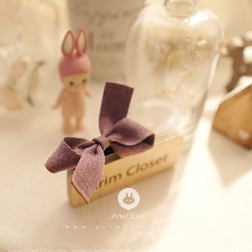 Latte Ribbon Hairclip