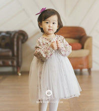 Load image into Gallery viewer, Elegant Flower Dress (3mths-4yrs old)