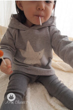 Load image into Gallery viewer, Star Winter Hood (3mths-4yrs old)