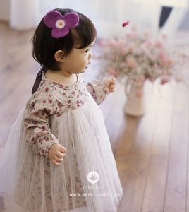 Elegant Flower Dress (3mths-4yrs old)