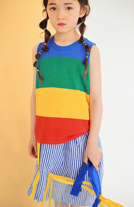 Rainbow Knit Camy Top (1-6yrs old)