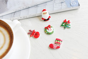 Santa Village Hair Ties