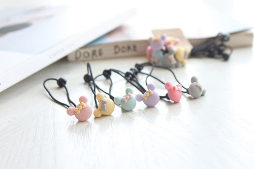 Minnie Hair Ties (Handmade in Korea)