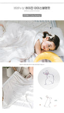 Load image into Gallery viewer, Bebenuvo Hygiene Ice Blanket/Swaddle Wrap - Joy Bunny