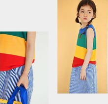 Load image into Gallery viewer, Rainbow Knit Camy Top (1-6yrs old)