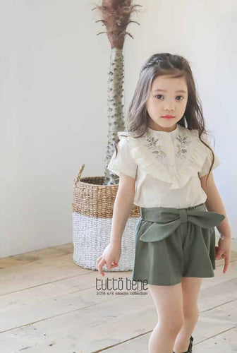 Ribbon Culottes Pants (2-8yrs old)