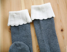 Load image into Gallery viewer, Cupcake Knee Socks (1-6yrs old)
