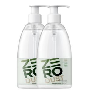 K-Mom Zero Dust Gel Hand Sanitiser 500mL (70% Ethanol) - Twin Pack