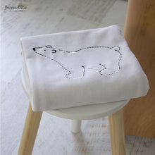 Load image into Gallery viewer, Polar Bear Classic Velour Cuddle Blanket