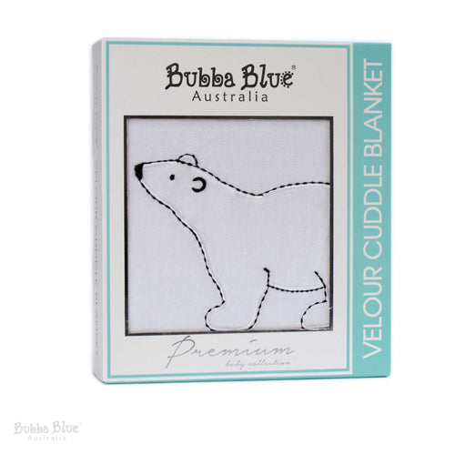 Polar Bear Classic Velour Cuddle Blanket