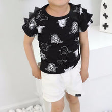 Load image into Gallery viewer, Dinosour T-shirt (1-4yrs old)