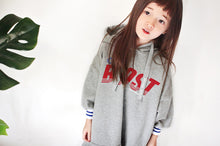 Load image into Gallery viewer, Boost Hoodie Dress (3yrs-9yrs)