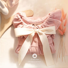 Load image into Gallery viewer, Big Ribbon Baby Romper (3-24mths)