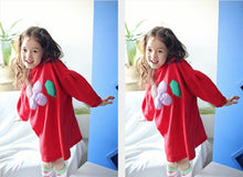 Load image into Gallery viewer, Red Clover Dress (2-6yrs old)