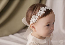 Load image into Gallery viewer, Lilian Lace Baby Headband