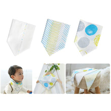 Load image into Gallery viewer, Mother-K Non fluorescent gauze handkerchief set Cotton Mint (10 sheets)