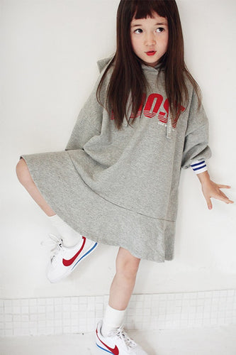 Boost Hoodie Dress (3yrs-9yrs)