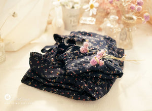 Navy Flower Dress (3mths-4yrs old)