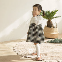 Load image into Gallery viewer, Checkered Cotton Dress (3mths-4yrs old)