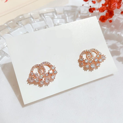 Cubic Milky Way Earrings (Handmade in Korea)
