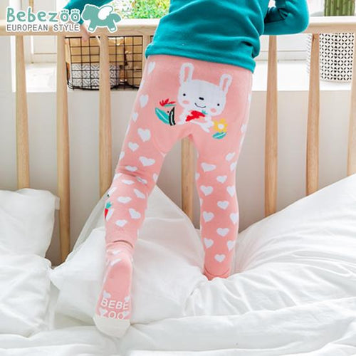 Pink Bunny Legging and Socks Set