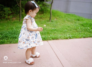 Summer Bird Dress (1-4yrs old)