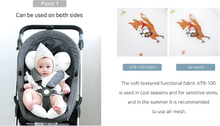 Load image into Gallery viewer, Bebenuvo Double Pram Liner - Busy Life