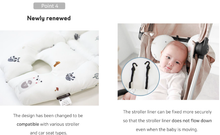 Load image into Gallery viewer, Bebenuvo Double Pram Liner - Flying Elly
