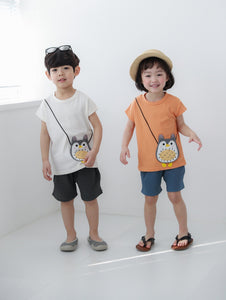 Owl Bag Tee (1-6yrs)