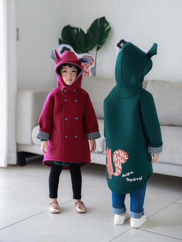 Squirrel Coat (2-8yrs old)