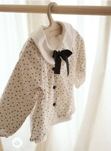 Cotton Flower Cardigan/Blouse (1-4yrs old)