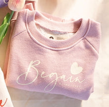 Load image into Gallery viewer, Cotton Lettering Sweater (1-4 yrs old)