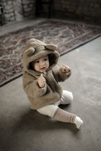 Load image into Gallery viewer, Bear Zip Up Hoodie (1-6yrs old)