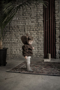 Bear Zip Up Hoodie (1-6yrs old)