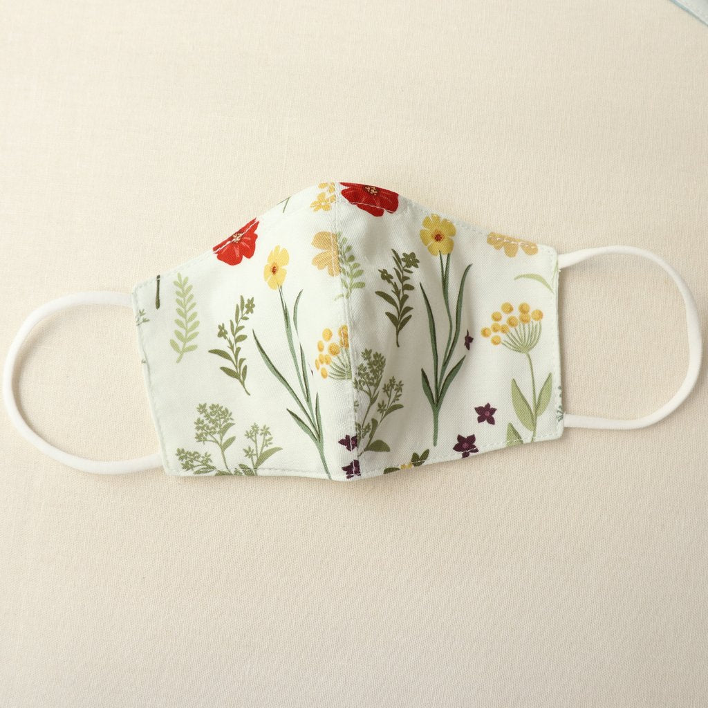 Reusable Cotton Face Mask made from Korean fabric (Child/Adult) - Daisy