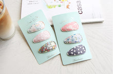 Load image into Gallery viewer, Downey Hair Clips (Handmade in Korea)