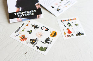 Kids' Temporary Tattoos (Halloween & Christmas)