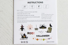 Load image into Gallery viewer, Kids' Temporary Tattoos (Halloween & Christmas)